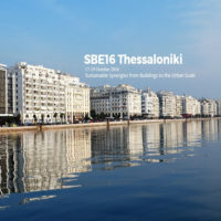 "SBE 16 Thessaloniki ""Sustainable  Synergies from Buildings to the Urban Scale"""