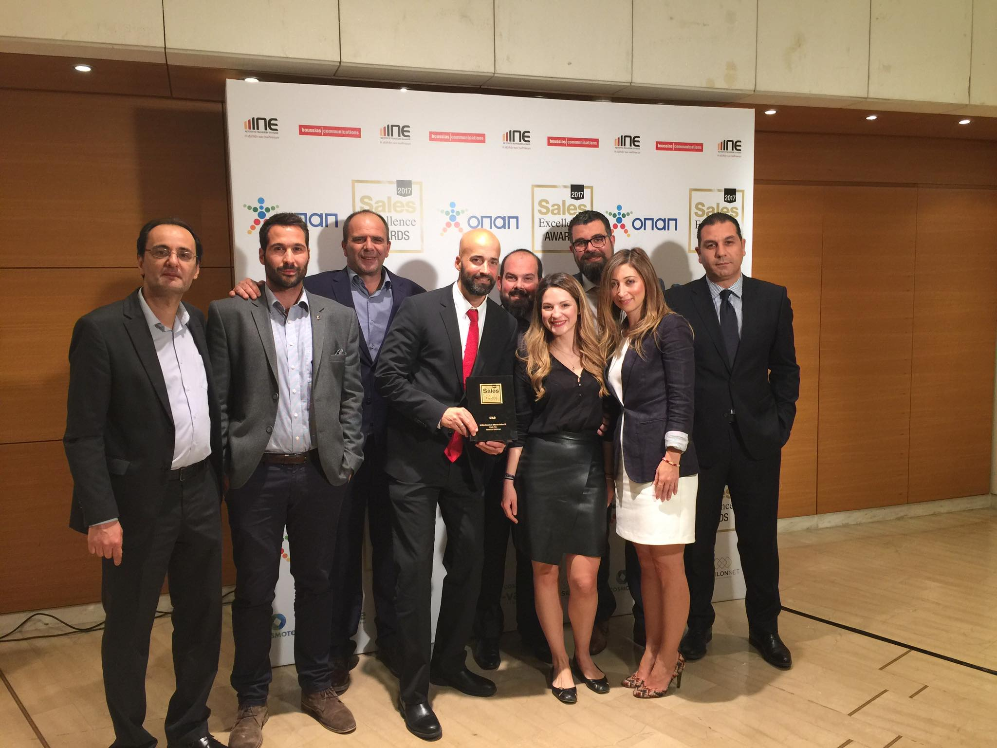 Mapei Hellas: Gold Award στα Sales Excellence Awards 2018! (φωτο&βίντεο)