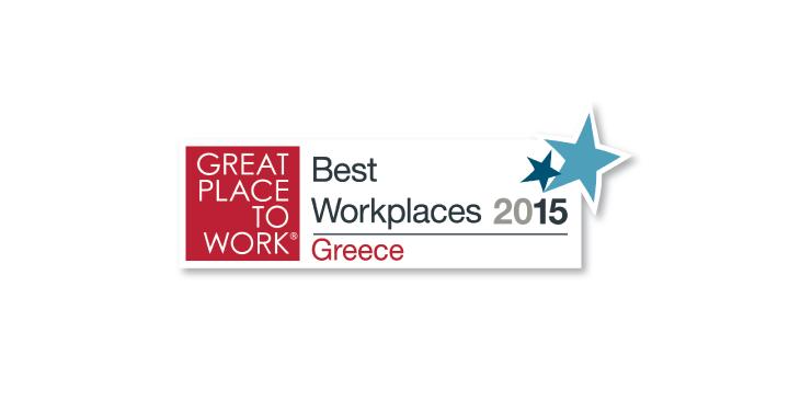 Β. ΚΑΥΚΑΣ Α.Ε.: Διάκριση στα Best Workplaces 2015