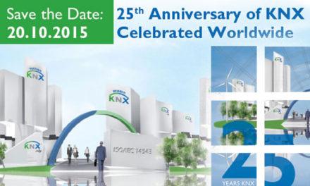 H ΚΝΧ γιορτάζει τα 25 χρόνια της με ένα δωρεάν Online KNX Event