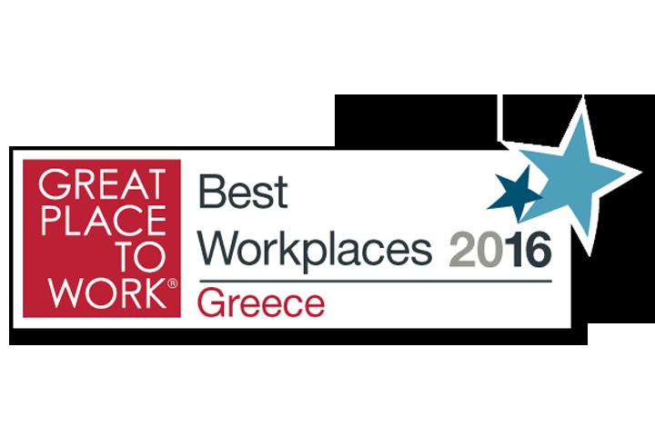 Η διάκριση της ΚΑΥΚΑΣ στα Best Workplaces 2016