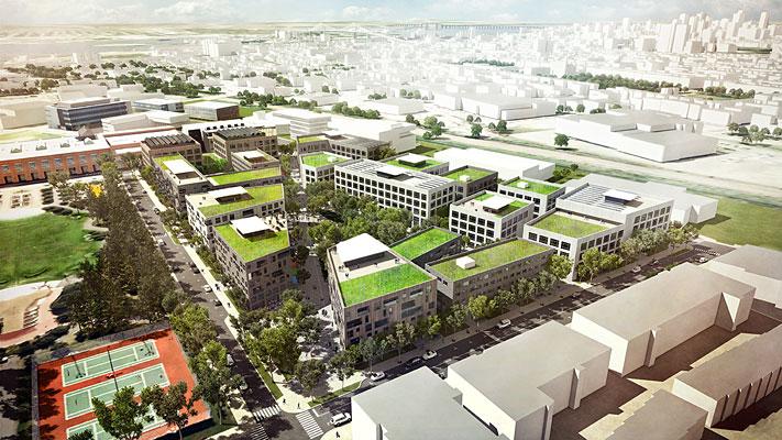 Εθνικό Βραβείο Αστικού Σχεδιασμού για τον πολεοδομικό σχεδιασμό του έργου Technopole Angus – Phase ΙΙ, στο Μόντρεαλ του Καναδά