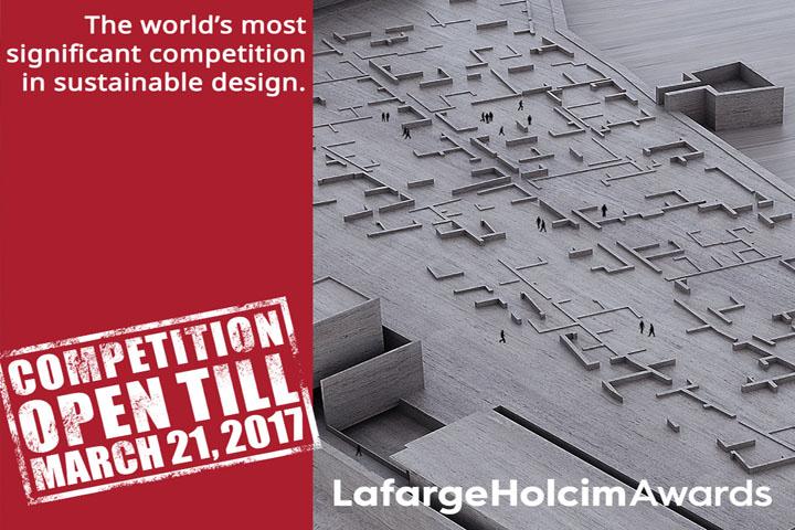 Μέχρι τις 21 Μαρτίου η υποβολή συμμετοχών για τα Διεθνή Βραβεία LafargeHolcim