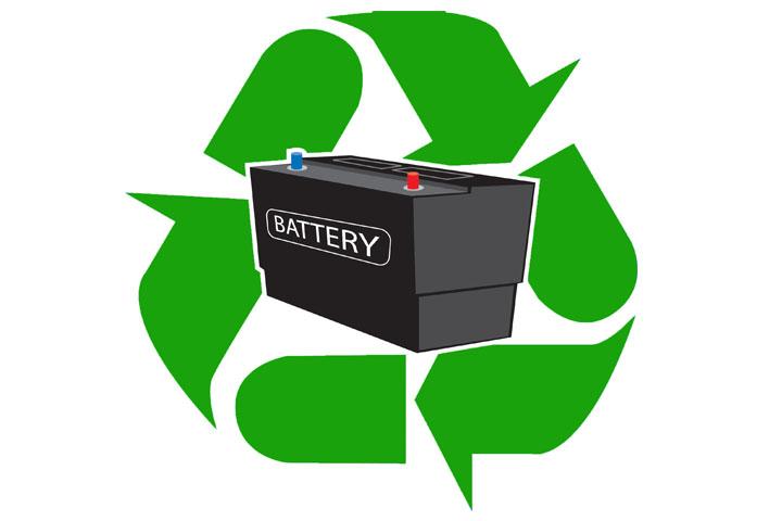 Αλματώδης αύξηση του ρυθμού ανακύκλωσης βιομηχανικών μπαταριών και μπαταριών οχημάτων.