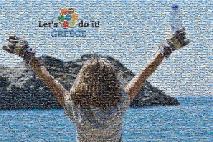 Let's Do It Greece: Ξεπέρασε το 1% της χώρας η συμμετοχή των εθελοντών