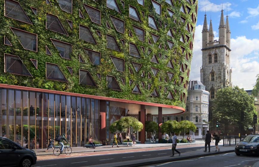 """Ο μεγαλύτερος """"πράσινος"""" τοίχος της Ευρώπης θα απορροφά 8 τόνους μόλυνσης ετησίως!"""