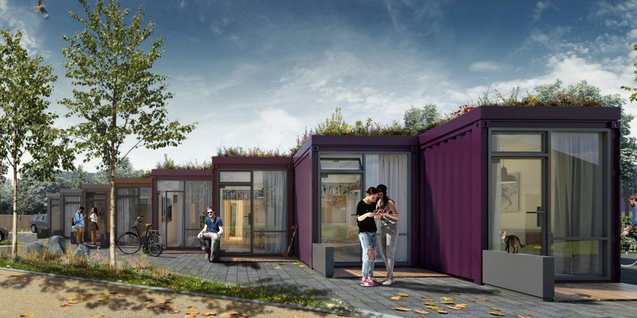 Πρωτότυπες μικρo-κατοικίες με πράσινες στέγες!