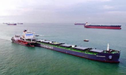 Η πρώτη δοκιμή βιοκαυσίμου σε πλοίο στη Σιγκαπούρη